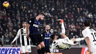 موعد مباراة يوفنتوس وانتر ميلان ضمن الدوري الإيطالي والقنوات الناقلة
