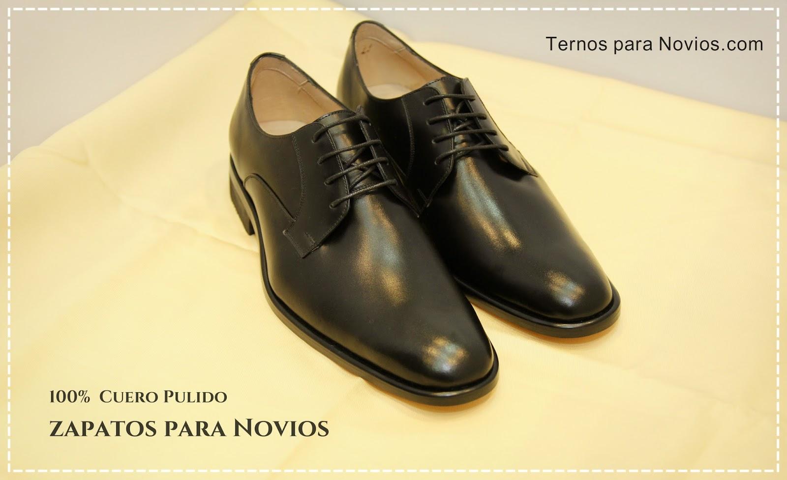 7548eb68ab Zapatos para Novios o Tuxedo - Esmoquin - Elegantísimo