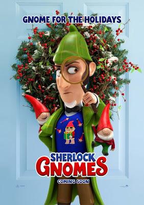 Sherlock Gnomes 2018 DVD R1 NTSC Latino