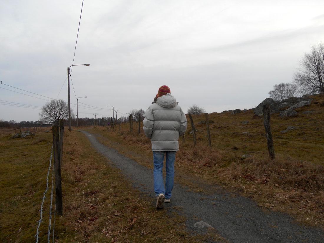 Una passeggiata ieri, 4 marzo 2017