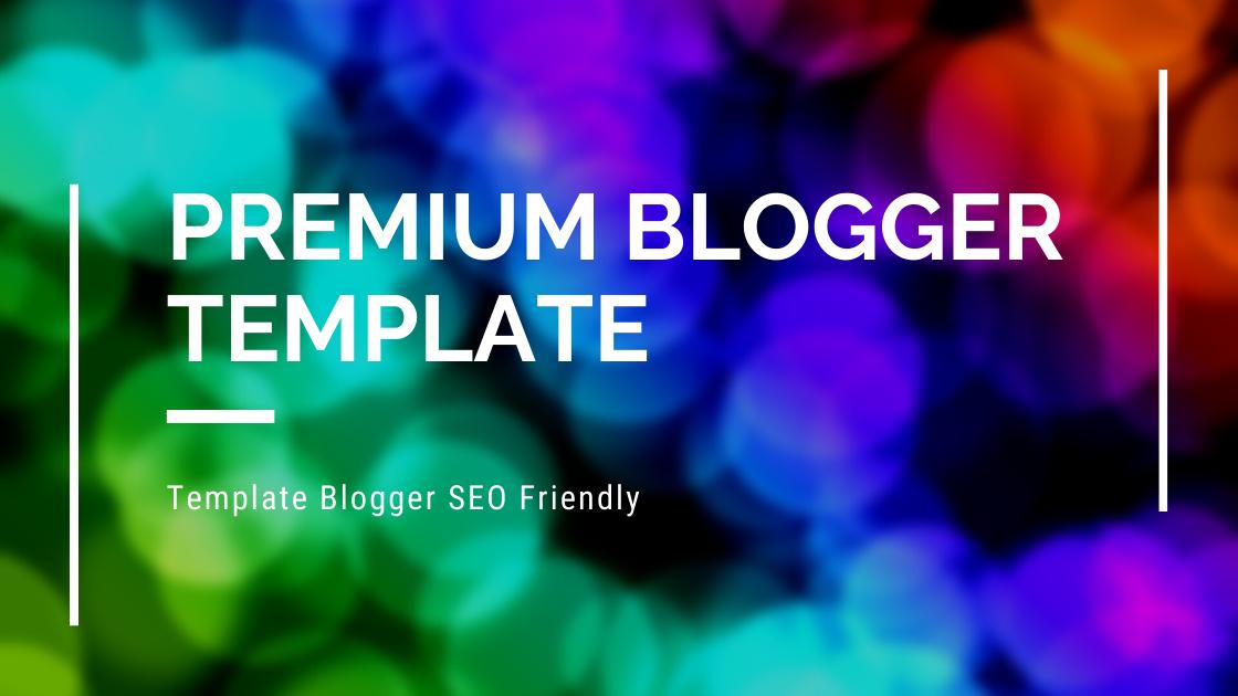 Template Blogger SEO Friendly