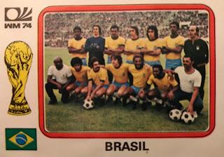 Figurina Brasile monaco 74