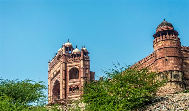 First view of Buland Darwaza