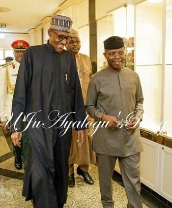 Why I warned Osinbajo – Buhari