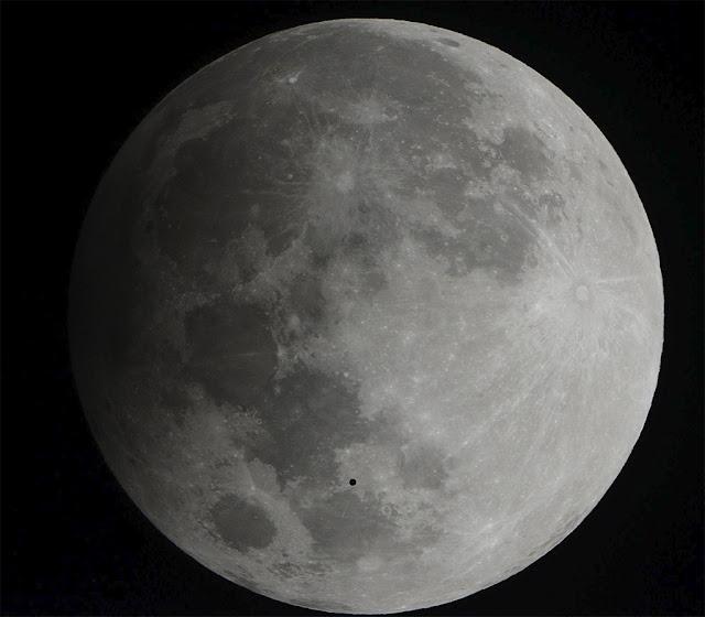 OVNI durante eclipse - o que seria esse estranho objeto