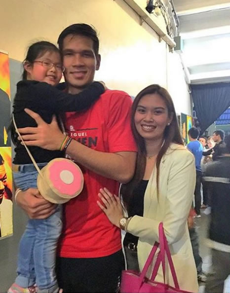 Top 15 Beautiful Photos of June Mar Fajardo's Girlfriend Aerieal Patnongon