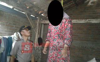 Pamit Pulang Dari Sawah, Perempuan Ini ditemukan Gantung Diri