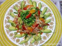 Avocado and turnip salad