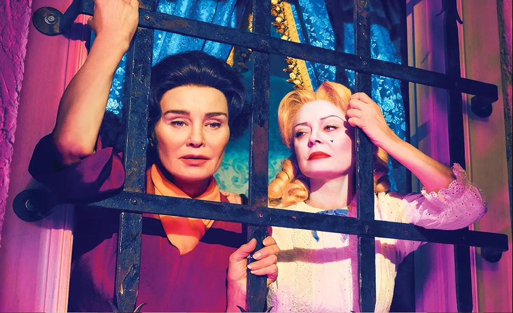 Poster de Feud con Jessica Lange y Susan Sarandon