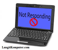 LangitKomputer.com - Browser Not Responding Saat Ganti Template Blog