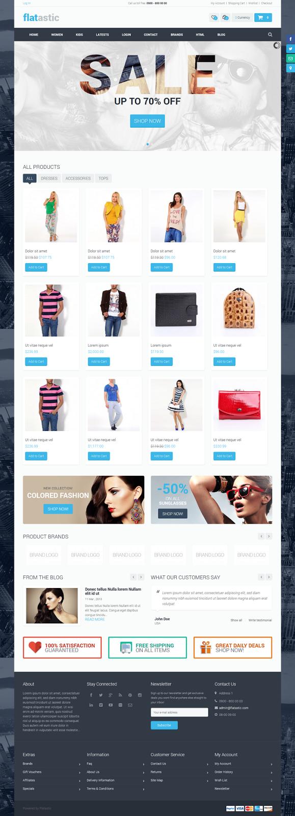 free eCommerce theme