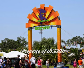 NOLA Jazz Fest 2015 entrance