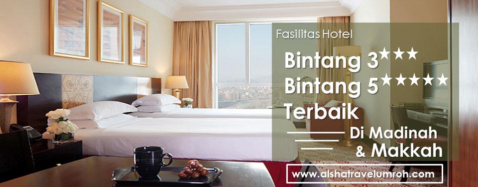 Fasilitas Hotel Bintang 3 & Bintang 5 Berkualitas Terbaik