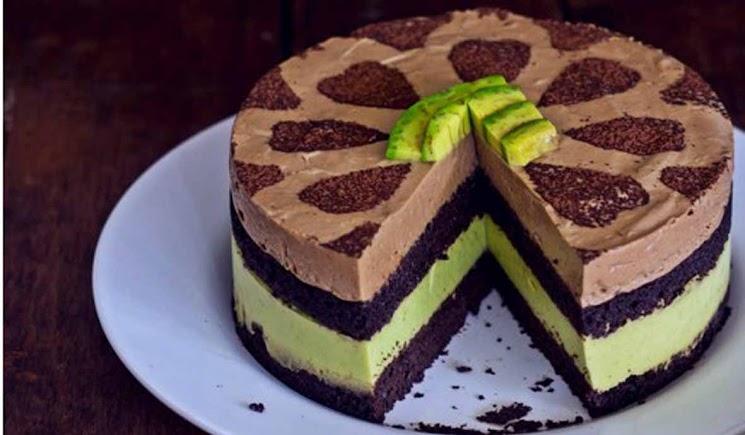 Resep Avocado Mousse Cake