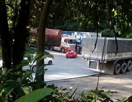 Trânsito será fechado na Serra Dona Francisca na sexta feira