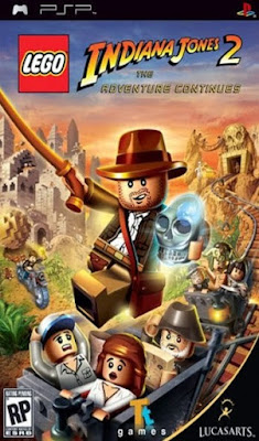 Download LEGO Indiana Jones 2 The Adventure Continues PPSSPP Cso Iso Ukuran Kecil