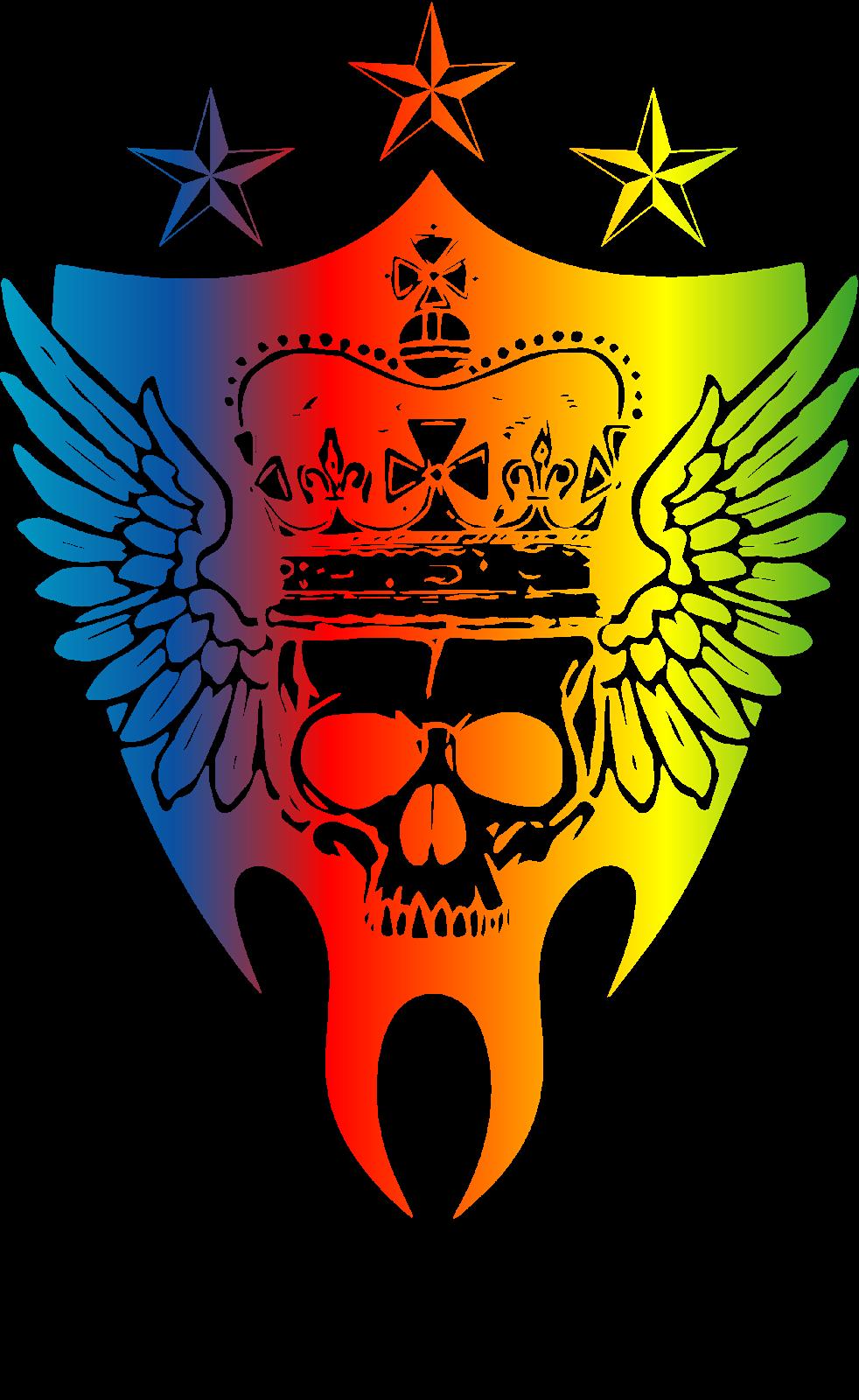 Logodol 全てが高画質 背景透過なアーティストのロゴをお届けするブログ 三代目スカルロゴ グラデーション の下にjsb表記あり