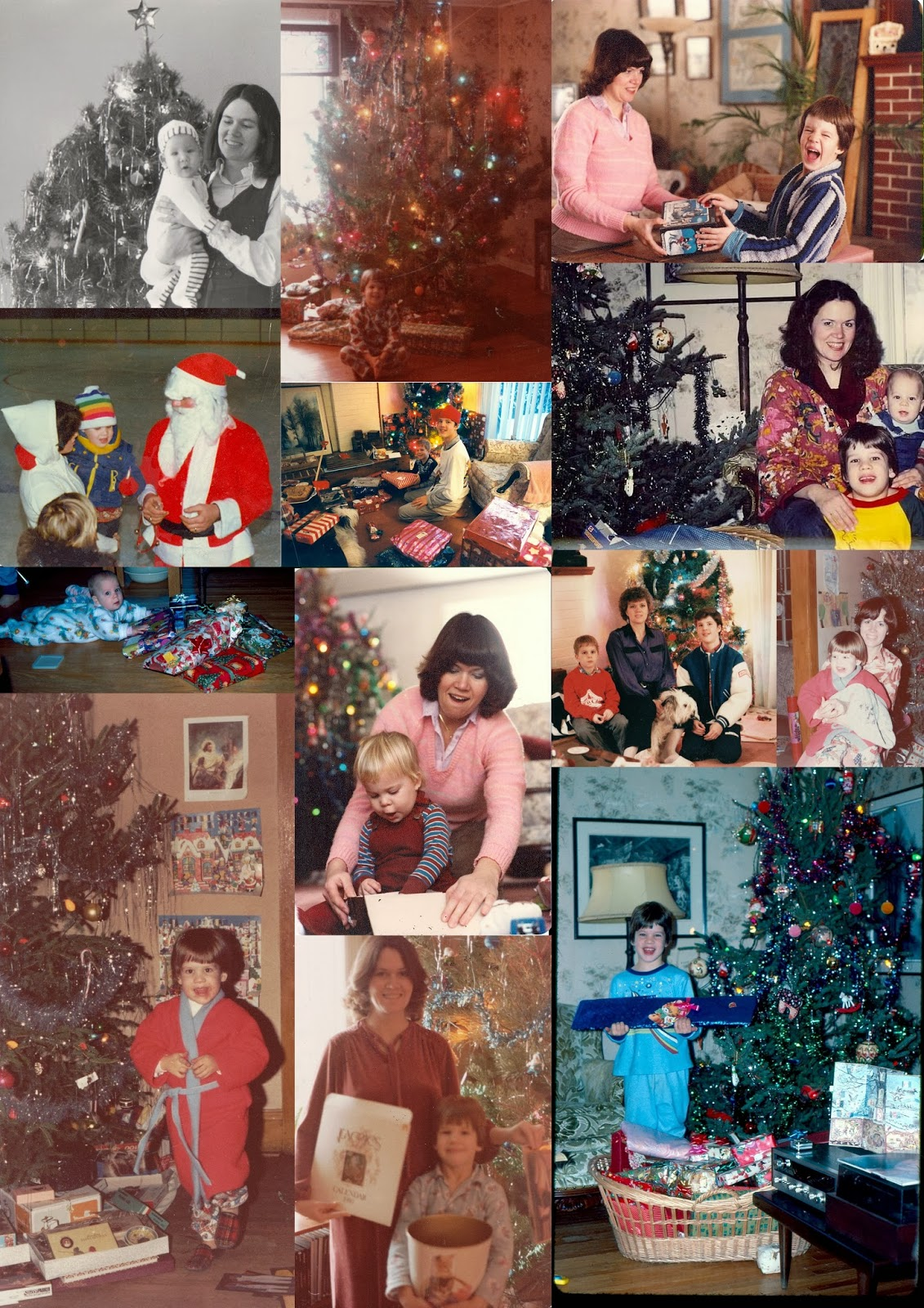 Christmas Through the Years