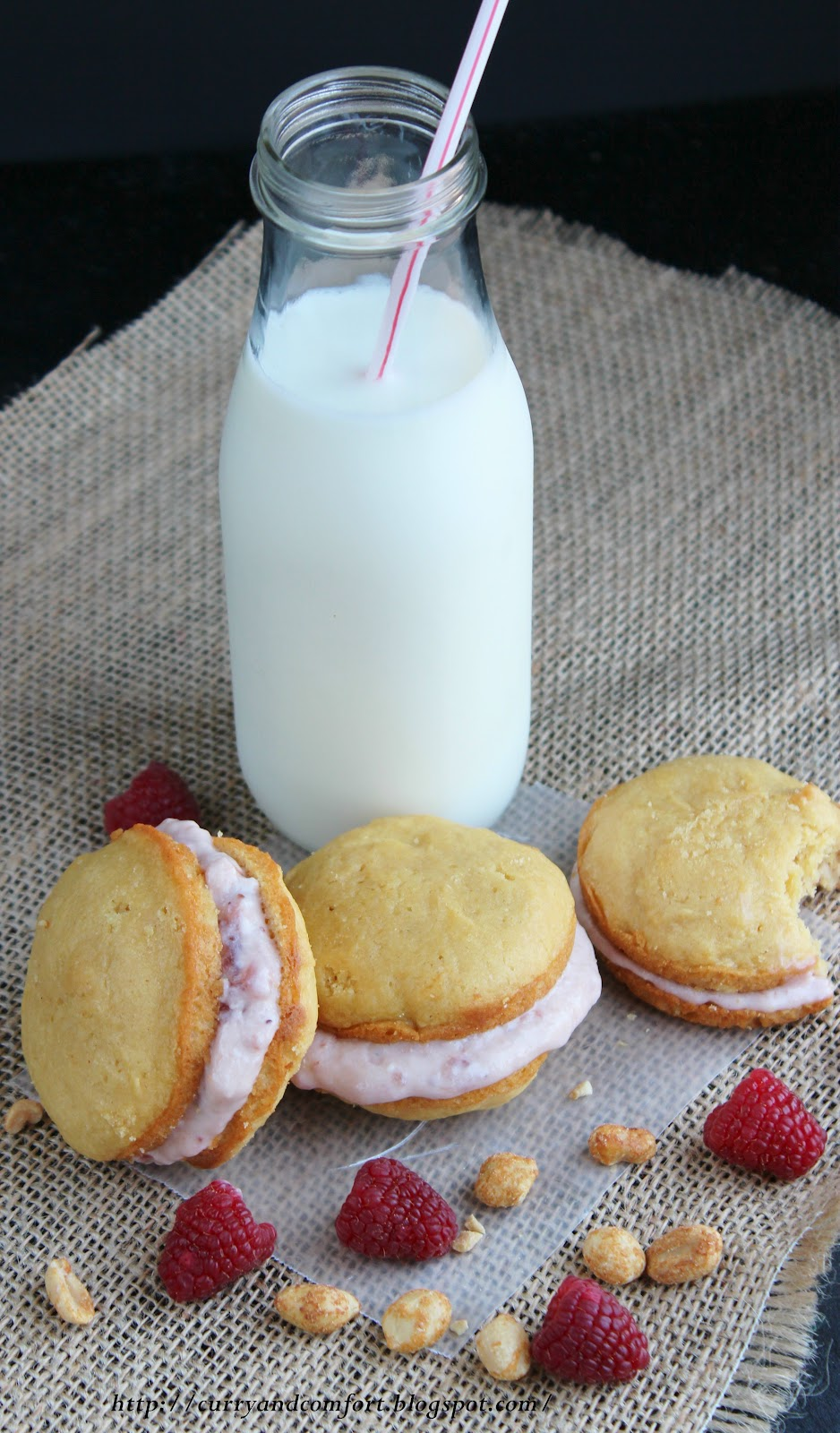 Kitchen Simmer Peanut Butter And Jelly Whoopie Pies