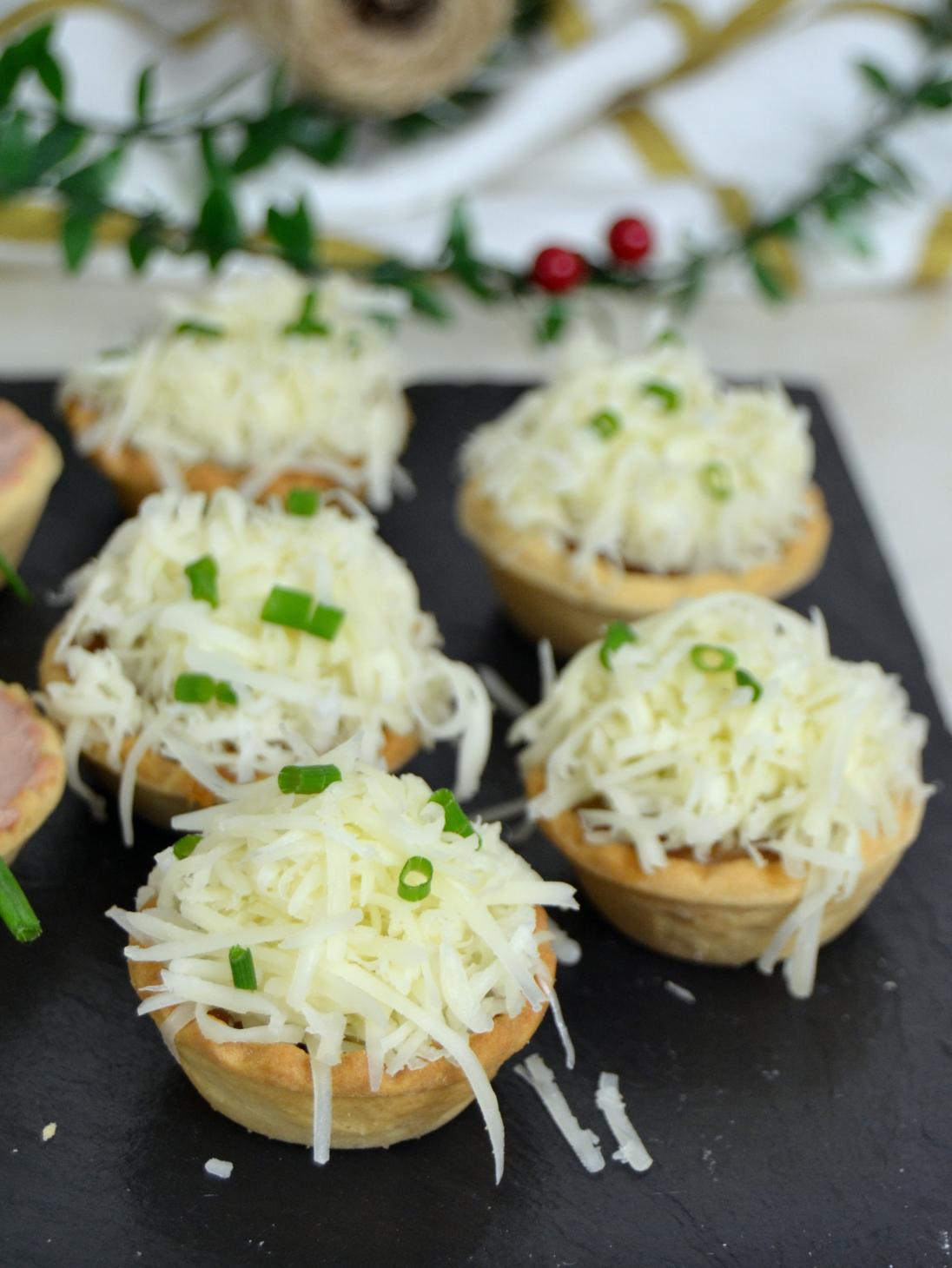 3 ideas de aperitivos en tartaletas para Navidad ¡Fáciles y deliciosas ...