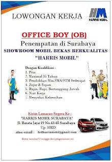Tantangan Kerja di Harris Mobil Surabaya Terbaru Maret 2018