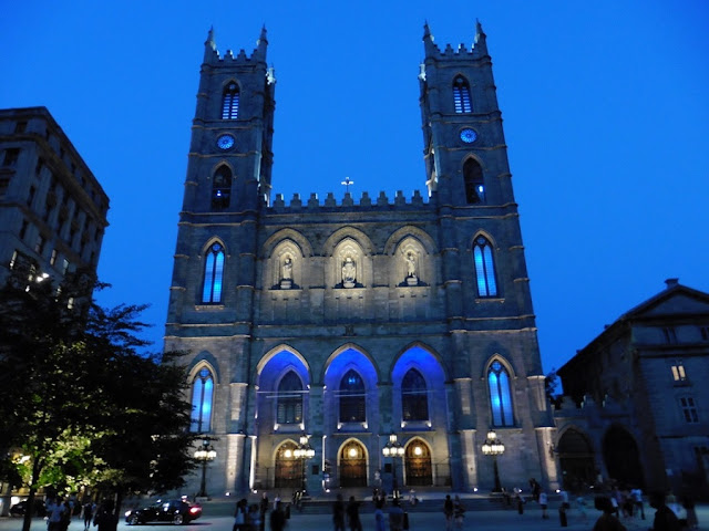 Basílica de Notre-Dame em Montreal