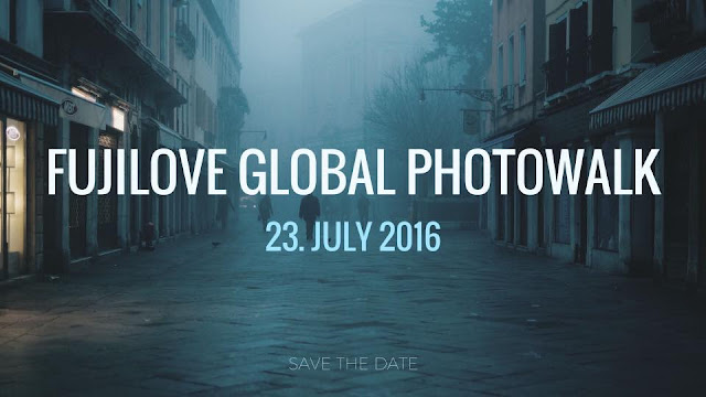 Banner del FujiLove Global Photowalk 2016