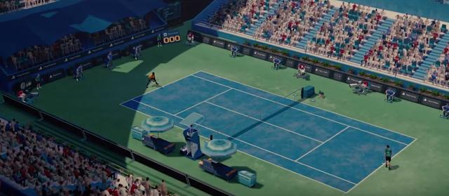 Tennis World Tour muestra sus primeras imágenes