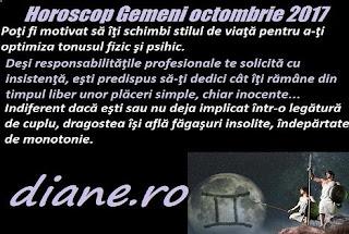 Horoscop octombrie 2017 Gemeni