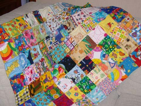 Hogar 10 c mo hacer una colcha de patchwork iii - Como hacer colchas de patchwork ...