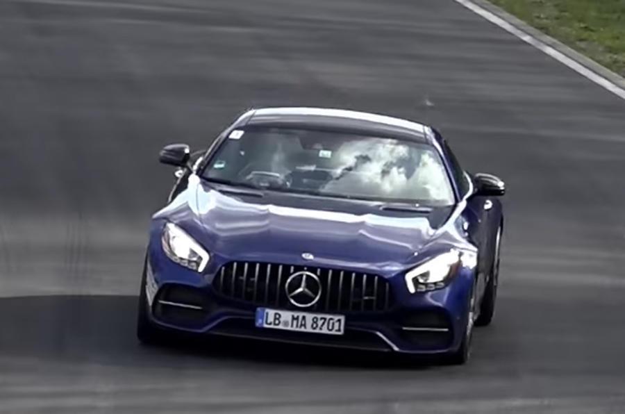 Mercedes-AMG GT facelift Phiên Bản 2 Cửa Đời 2019 Ra Mắt