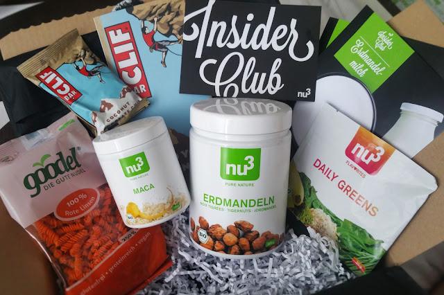 Produkte der nu3 Insider Box