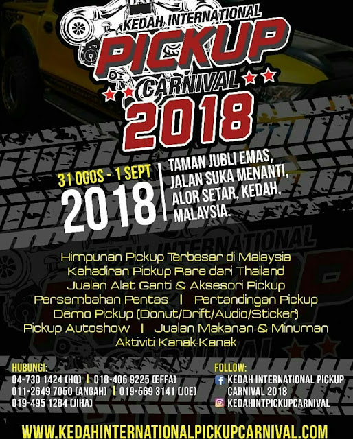 KEDAH INTERNATIONAL PICKUP CARNIVAL 2018