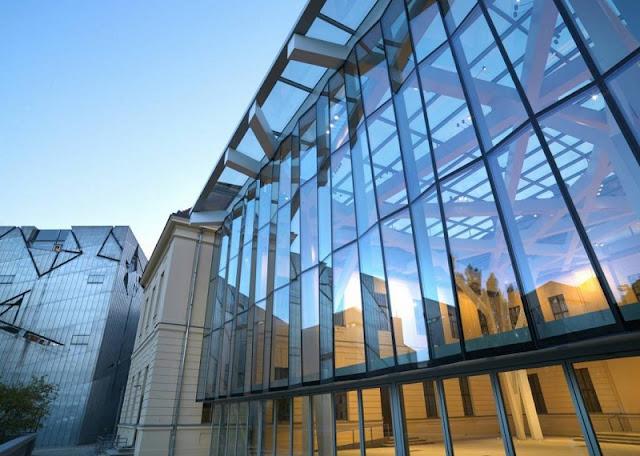 Fachada do Museu Judaico em Berlim
