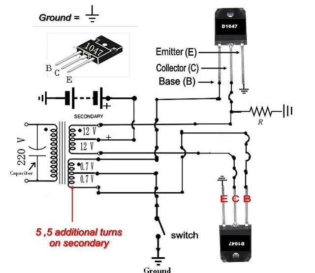 make your own 50 to 500 watt power inverter ups in urdu do science