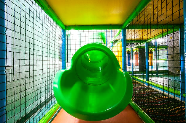 indoor slide ymca