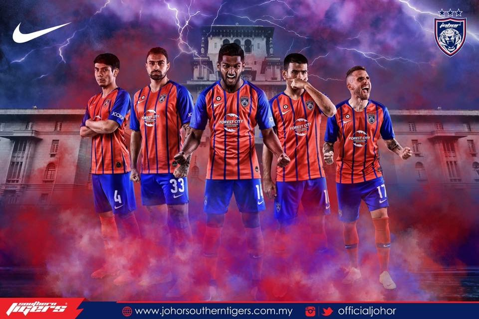 Johor Darul Takzim Nike Kits 2019 -  Dream League Soccer Kits