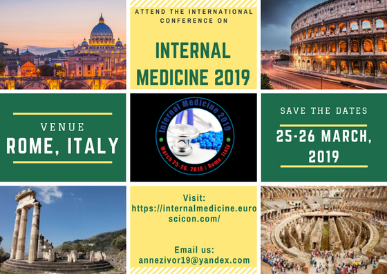 Internal Medicine 2019|CME Internal Medicine Conferences