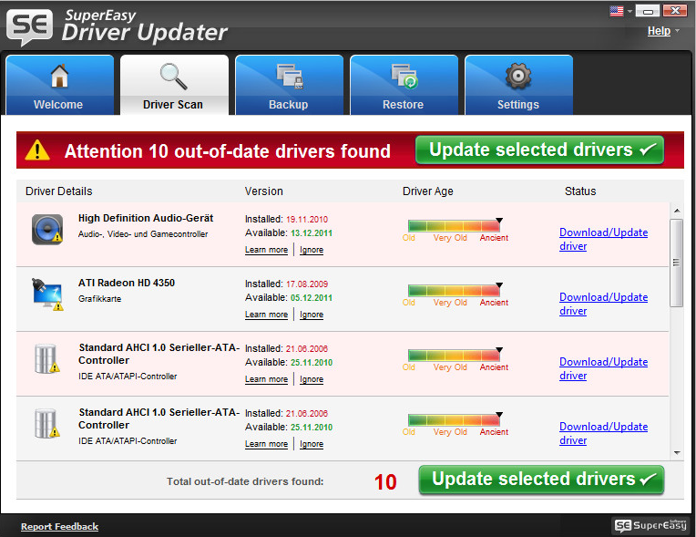 download  SuperEasy Driver Updater