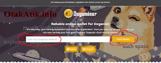 gambar 1 dogecoin mining site scam