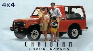 suzuki katana caribian original