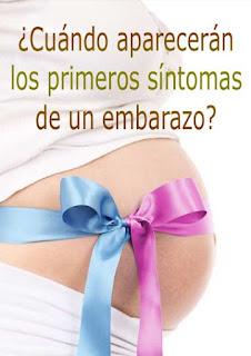 Cuando aparecen los primeros sintomas de embarazo