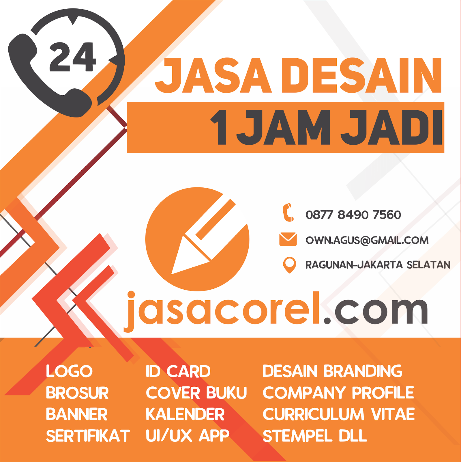 jasa desain corel draw