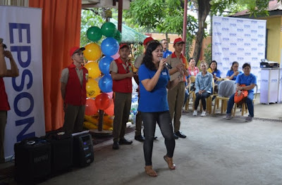 Epson Spreads Cheer to Bahay Tuluyan Home for the Girls
