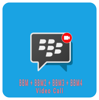 Multi BBM 1 + BBM 2 + BBM 3 + BBM 4 Support Video Call