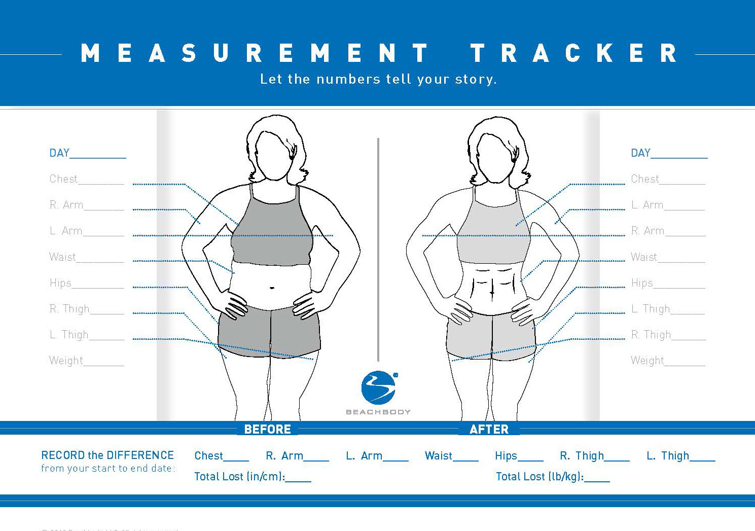 How To Take Accurate Before And After Measurements