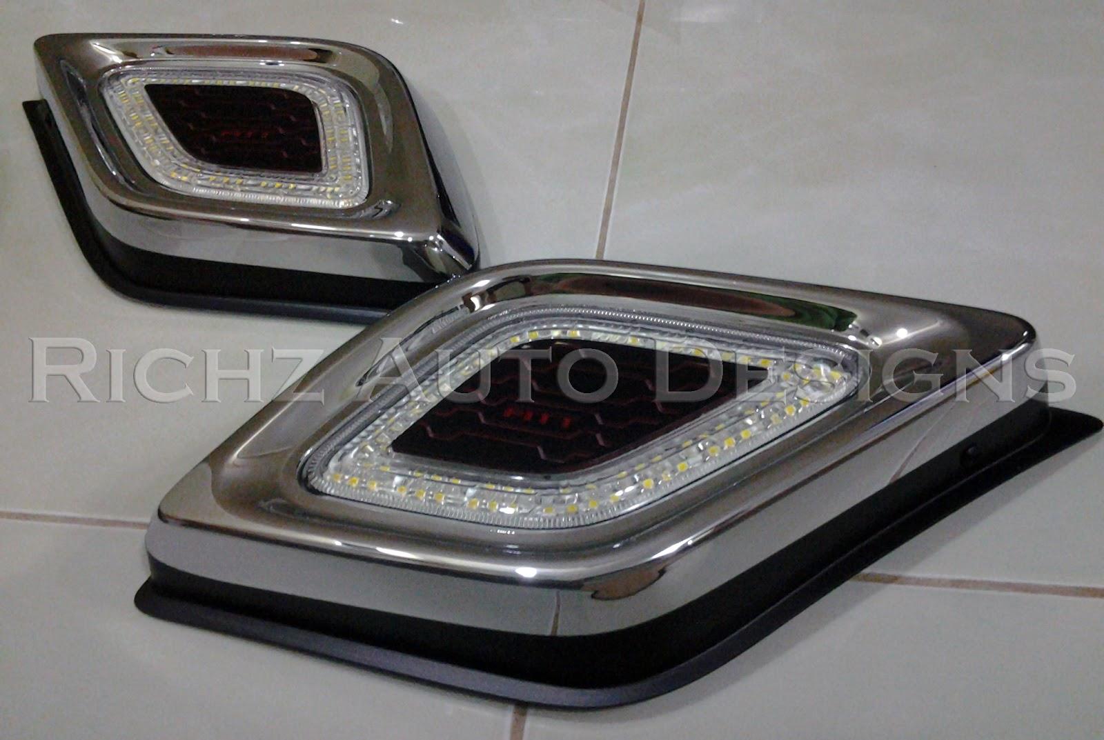 Bodykit Grand New Veloz Velg Oem Richz Auto Designs: Car Lightning & Foglamp
