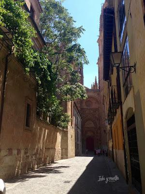 Salamanca rincones Calle Calderón
