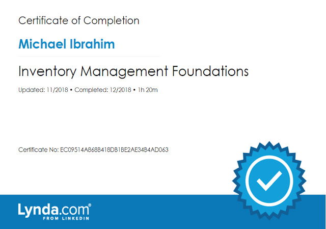 inventory management foundations
