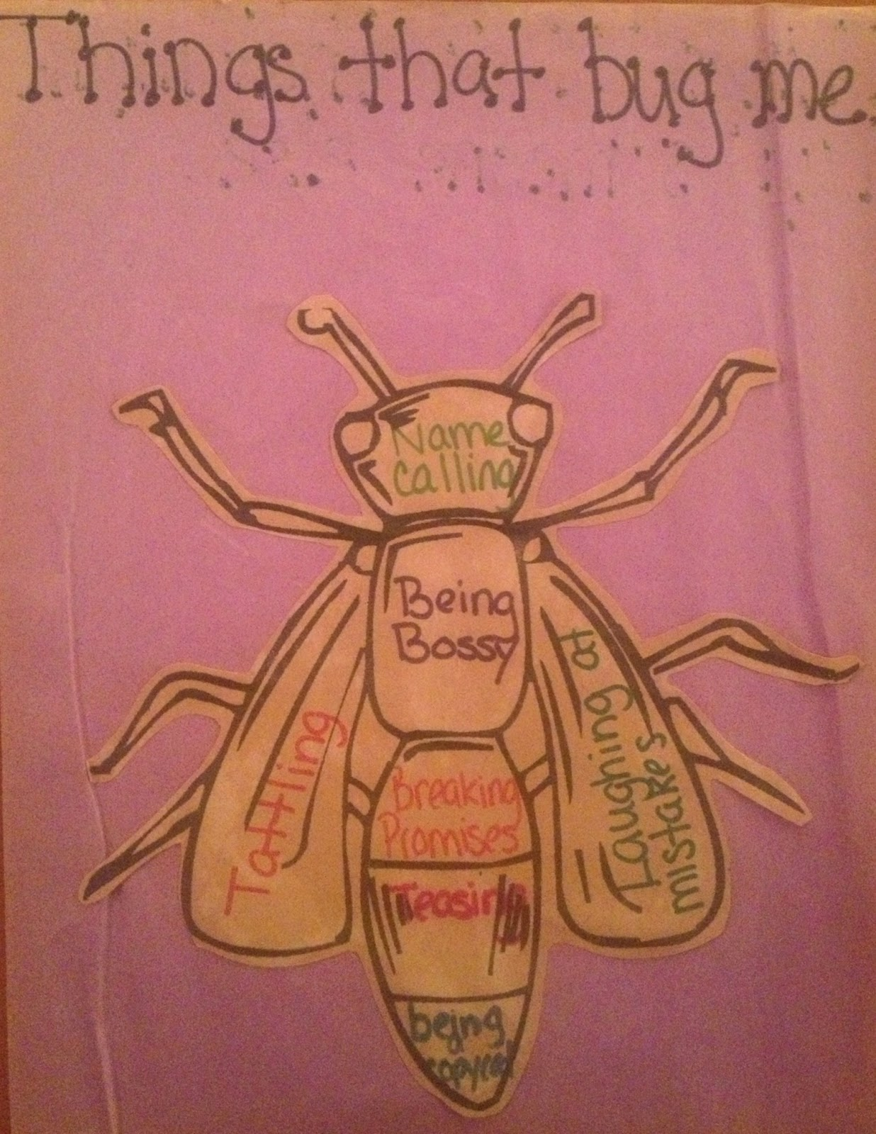 Creative Elementary School Counselor Friendship Bugs